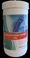 Daudzfunkcionālās hlora tabletes 1 kg (20g tabletes)