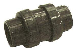 PVC pretvārsts ar saskrūvēm 63mm