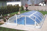 Swimming pool polycarbonate roof 3.32 x 6.30 x 1.11