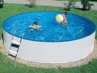 Virszemes baseins (D=2,4m, dziļums=0,9m), skimfiltrs2000