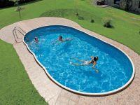 Virszemes baseins (9,1x4,6m, dziļums=1,20m) swirl