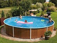 Virszemes baseins (D=5,5m, dziļums=1,20m) swirl