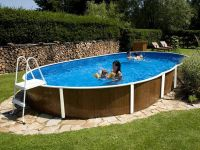 Surface pool (5,5x3,7m, depth=1,20m) mistry