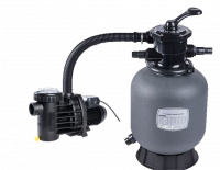 Smilšu filtrs D=350mm ar sūkni, P2=0,25 kW. 5 m3/h