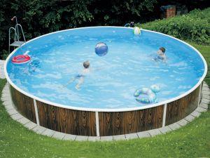 Surface pool (D=6,4m, depth=1,20m) mosaic