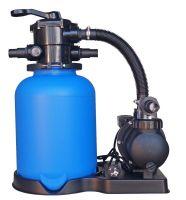 Smilšu filtrs D=300mm ar sūkni 75-1 6m/6m³/h, kvarca smiltis un pieslēguma caurules