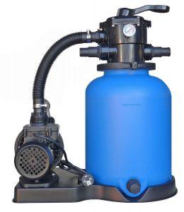 Smilšu filtrs D=300mm ar sūkni 75-1 6m/6m³/h