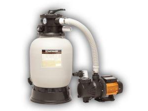 Smilšu filtrs D=350mm ar sūkni, P2=0,3 kW. 5 m3/h