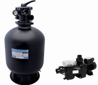 Sand filter PENTAIR D=480 mm with pump, 9 m3/h,