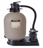 Sand filter D=350mm with pump, 0,3 kW, 5 m3/h