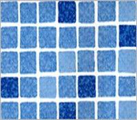Baseinu kausējamā membrāna Mosaic blue