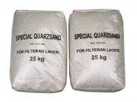 Filtrēšanas smiltis 0.6-1.2 mm (25 kg)