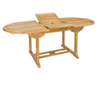 Ovāls galds 150/200 x 90 cm (BB B2079)