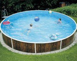 Round-shaped pools