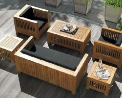 Furniture for the garden, for rest